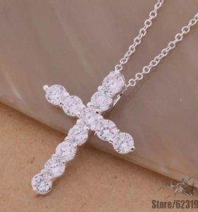 Крестики стерлинговое серебро 925