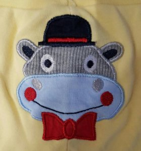 Ползунки, штанишки для девочки 0-3, 3-6 месяцев