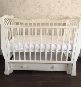 Детская кроватка Лель Ландыш