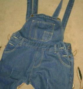 Новый джинсовый комбинезон👖