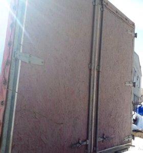 Ворота на Маз Зубренок с рамкой