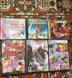 Диски игры игровые диски для игры компьютера