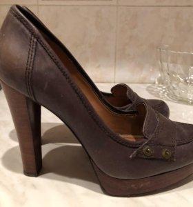 Кожаные туфли sixty