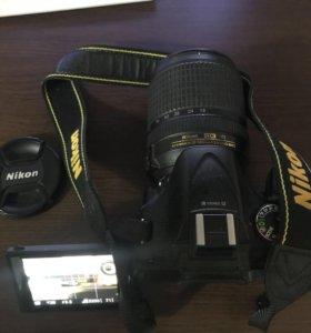 Nikon D5200+объектив 18-140