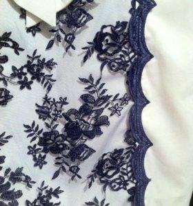 Платье белое (Турция)-500