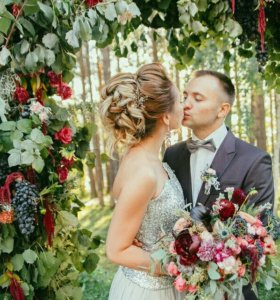 Свадьба-Фотосессия Лучшие Причёски,Макияж:)