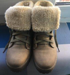Зимние ботинки(обувь,сапоги) 37р