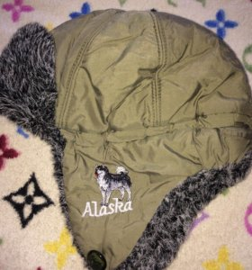 Детская зимняя шапка,очень тёплая.