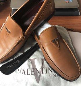 Топсайдеры Valentino, туфли новые!