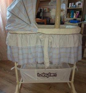Кроватка-люлька Babyton