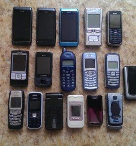 Продам телефоны Nokia, Samsung, Siemens