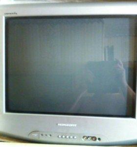 Телевизор HORIZONT с плоским экраном