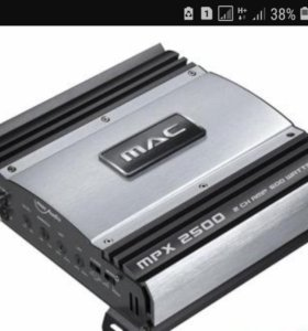 Продам усилитель mac audio mpx 2500. 2х канальный