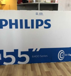 Philips 55PUS6432-55 Smart Android 4K-Ultra Новый
