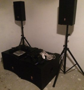 Звукоусиливающий комплект Eurosound