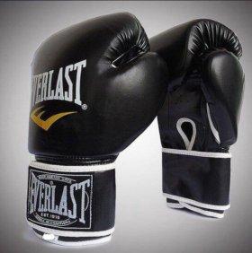 Перчатки боксёрские Everlast 12oz (новые)
