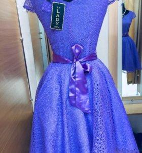 Платье синие новые
