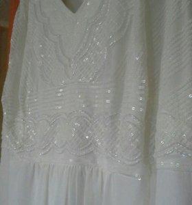 Свадебное Платье 56-58р