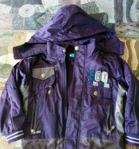 куртка весенняя,на 3-6лет
