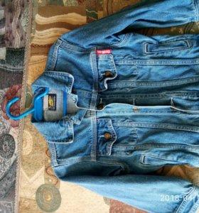 джинс.куртка на 3-6лет