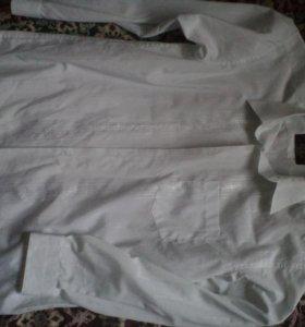 Рубашка белая,размер указан-40/176