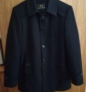 Пальто зимнее мужское. Кашемир + шерсть.