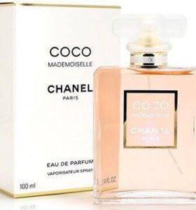 духи Coco Chanel mademoiselle 100 ml оригинал.
