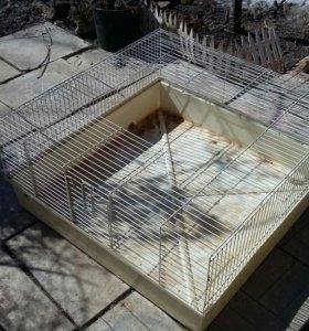клетка для кроликов без крышки
