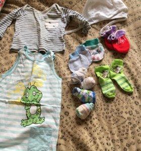 Детские вещи даром