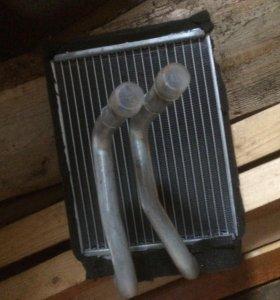 Радиатор охлаждения и радиатор печки хендай саната