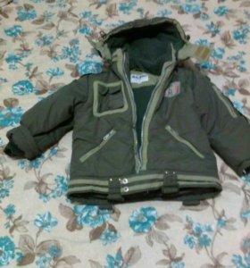 Куртка зимняя р- 116, маломерка