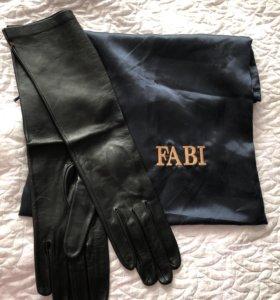 Перчатки кожаные Fabi оригинал. Новые