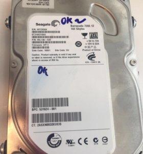 Жесткий диск hdd seagate 160Gb 7200rpm