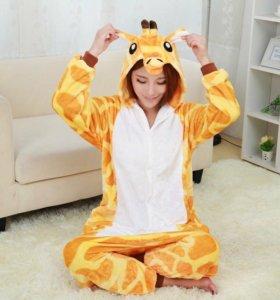 Пижама жираф кигуруми