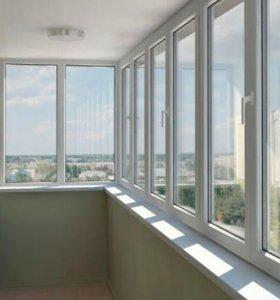 Металопластиковые окна, двери, натяжные потолки