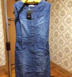 Новое Платье джинсовое