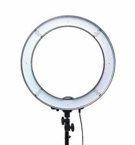 Кольцевая лампа лед для визажиста 48,5
