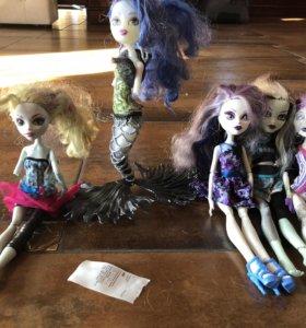 Куклы монстр хай и Эвер Автер хай