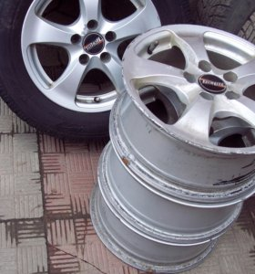 диски литые Шкода WV R14 и колпаки VW