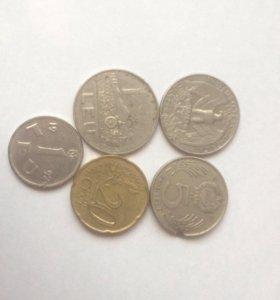 Срочно продам не большую коллекцию монет 10 штук.