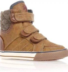 Детские высокие кеды (ботинки) Next