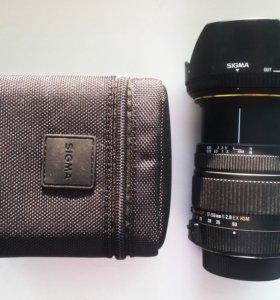 Объектив Sigma 17-50 mm f2.8 для nikon