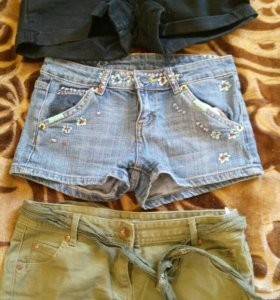 Шорты новые джинс 3 пары
