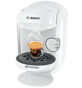 Кофеварка капсульная Bosch Tassimo VIVY II белая