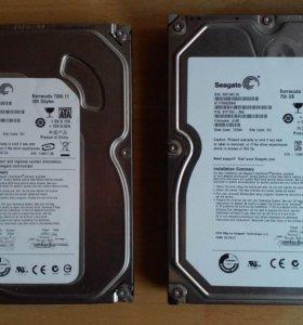 HDD 750Гб, 320Гб  (проверены)