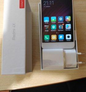 Новый Xiaomi Redmi 4x Gold 3\32 Global Version,