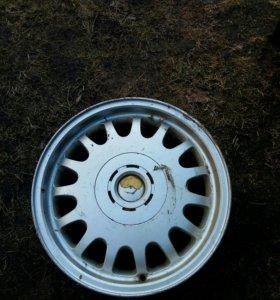 Б/у диски(комплект) BMW, Nissan r16