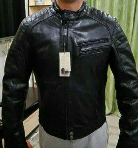 Куртки кожаные Mango Man - CROSS7. Размер 44.