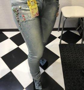 Новые джинсы размер 27/28