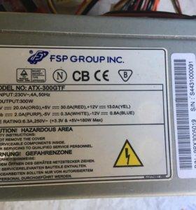 Блок питания FSP Group ATX-300GTF 300W
